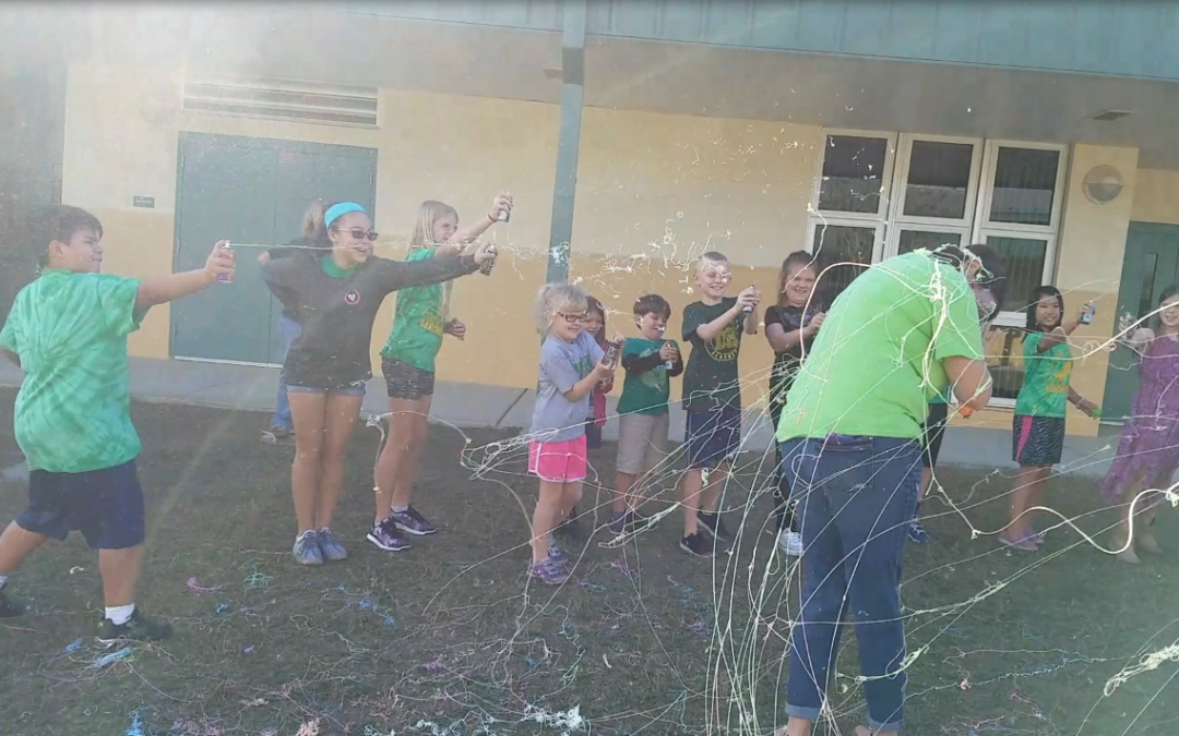 Silly String! Click to watch the silly!